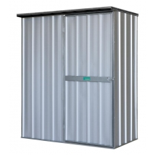 EasyShed Flat Roof  1.5  x 0.75 x 1.8 Zinc
