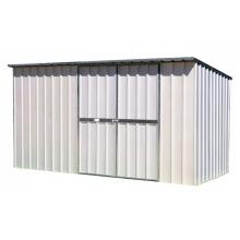 EasyShed Flat Roof – 3.75 x 1.5 x 1.8 - Zincalume