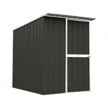 EasyShed Skillion Roof 1.5  x 1.5 x 2.1 -  Colorbond