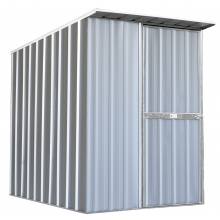 EasyShed Skillion Roof  1.5  x 1.9 x 1.98 Zinc