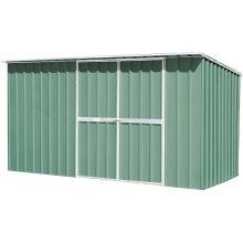 EasyShed Skillion Roof 3.75  x 1.9 x 2.1 -  Colorbond