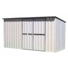 EasyShed Skillion Roof  3.75  x 1.9 x 1.98 Zinc