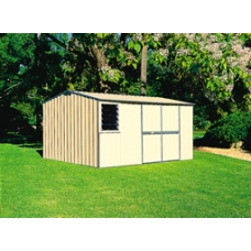 EasyShed Gable Roof 3.75  x 3.75 x 2.18 -  Colorbond