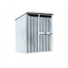 EasyShed Skillion Roof  1.5  x 1.5 x 1.98 Zinc