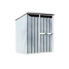 EasyShed Skillion Roof  1.5  x 1.5 x 1.98 Zinc