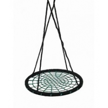 Nest swing round with adjustable ropes