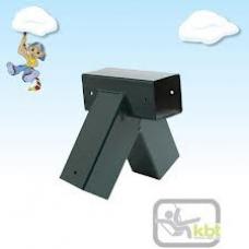 Swing Corner Oblique Square 90x90mm
