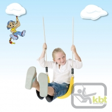 Flexible Wraparound Strap Swing Seat