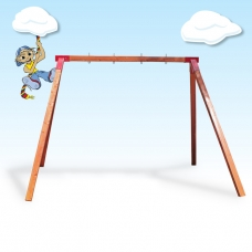 Double Free Standing Swing Frame