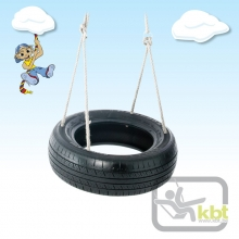 Horizontal 2 Point Tyre Swing