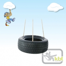 Horizontal 3 Point Tyre Swing