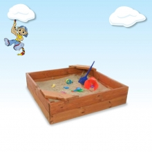 Sandpit with 2 Seats 1.5m x 1.5m