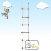 Wooden Rungs Rope Ladder (7 rungs)